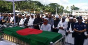 Last respects paid to Golam Sarwar in Barishal