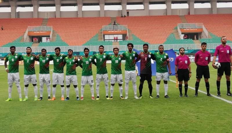 Asian Games Football: Bangladesh force Thailand to play 1-1 draw