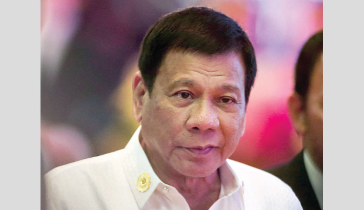 China wrong to build island in disputed waters: Duterte