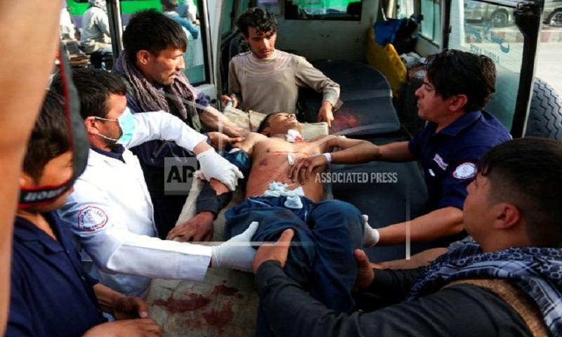 Death toll in Kabul suicide blast rises to 48