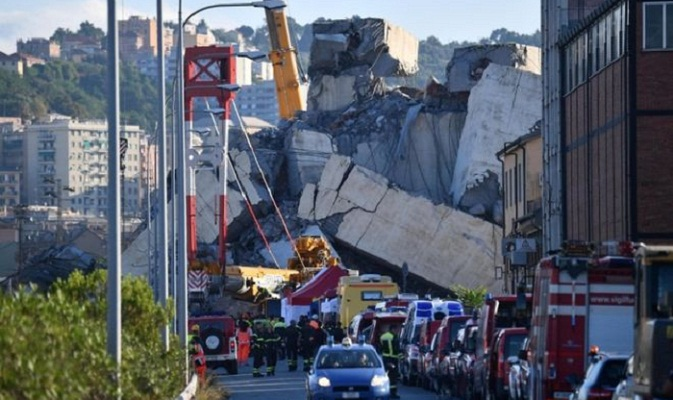State of emergency follows Genoa disaster