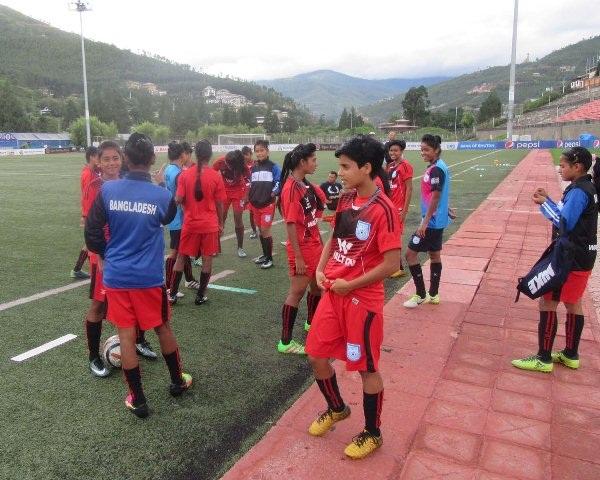SAFF U-19 Women's Champs: Bangladesh take on Bhutan in semifinal today