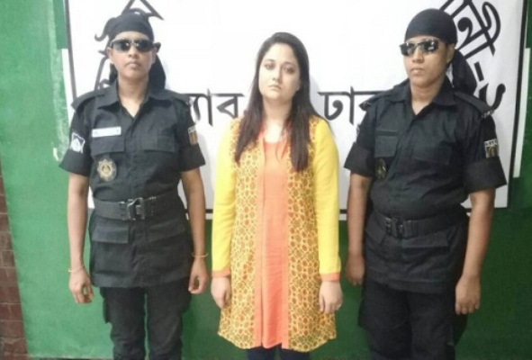 Faria Mahjabin on three-day remand