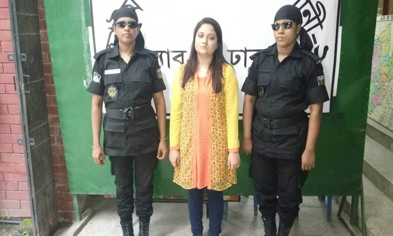 Woman held in city for 'spreading rumour on 'facebook'