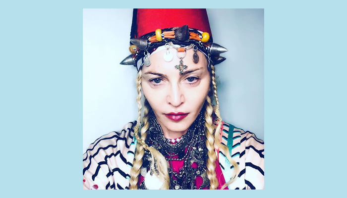Madonna turns into 'berber queen' for 60th birthday