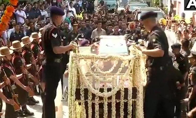 Atal Bihari Vajpayee's last rites to be held today
