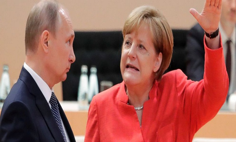 Merkel, Putin share a headache: Trump