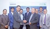 StanChart Bank, Samsung  ink deal