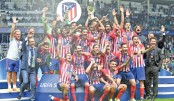 Atletico sink Real Madrid to win Super Cup