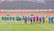 Bangladesh hold Thailand 1-1