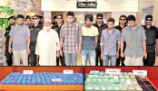 Six 'drug traders'  held with 2.7 lakh  Yaba pills in city