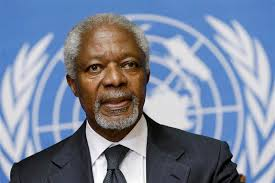 UN chief says predecessor Annan was 'a guiding force for good'