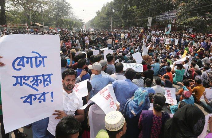 Quota, safe road movements: Shujan seeks students' release