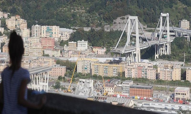 Italian media: Death toll rises to 42 in bridge collapse