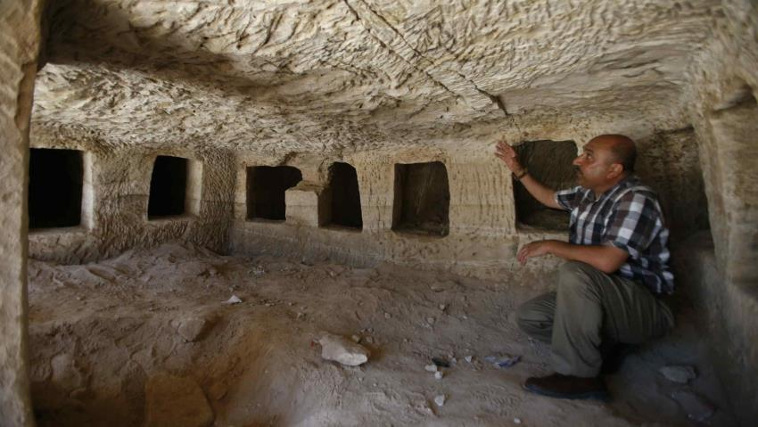 Roman-era tombs discovered in Palestinian village