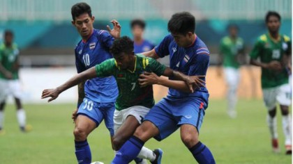Asian Games football: Bangladesh beat Qatar, reach round of