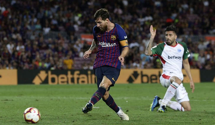 Messi's good start reinforces Barcelona's status as favorite