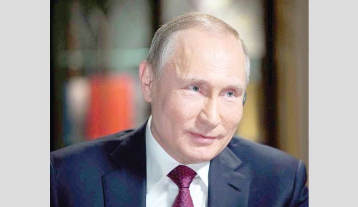 Putin calls on Europe to rebuild Syria for refugees' return