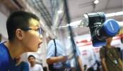 China presents automated doctors, teachers