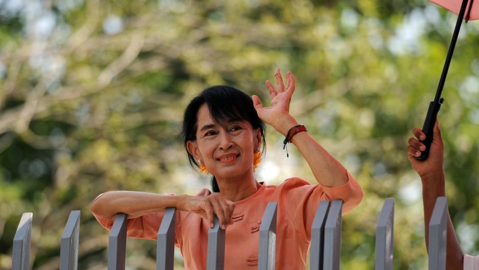 Aung San Suu Kyi says pace of Rohingya return is up to Bangladesh