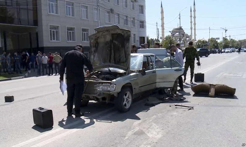 Islamic militants launch attacks in Chechnya, 5 killed