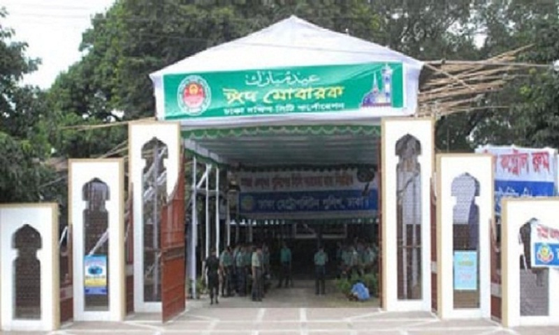 Main Eid congregation to be held at National Eidgah at 8 am