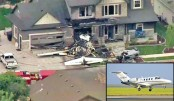 Pilot crashes plane into own house
