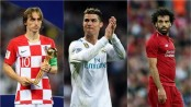 Ronaldo, Modric and Salah up for UEFA Player of the Year