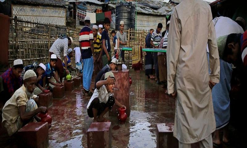 Rohingya refugees celebrate Eid holiday amid memories of home