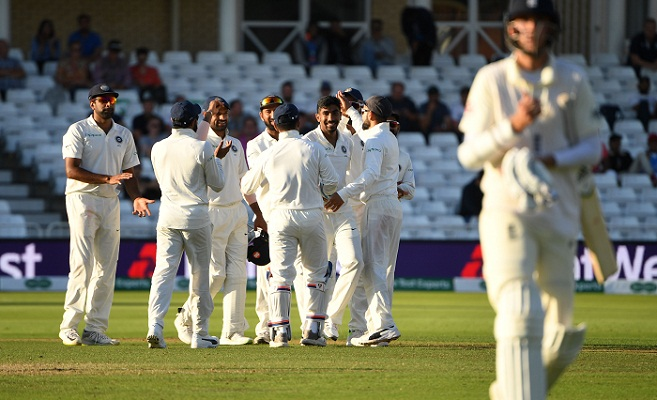 England 311-9 at 4th day close against India, need 210 more to win