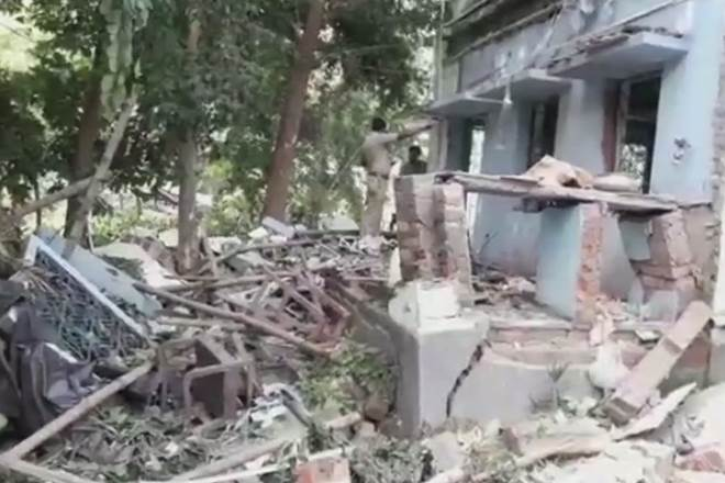 Two dead, three injured in blast at Trinamool Congress office in West Bengal