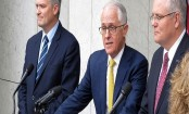 Defiant Australia PM Turnbull refuses to 'give in to bullies'
