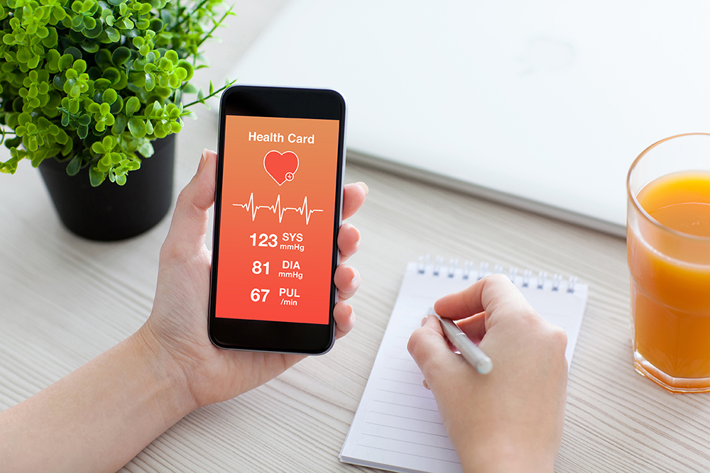 Smartphone app to detect irregular heart beat