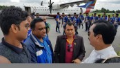 Sri Lanka football team reaches Nilphamari to play FIFA Friendly
