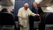 Pope keeps silent on abuse claim letter at end of Irish visit
