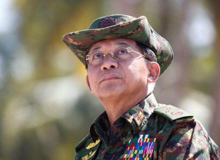 Jendral Min Aung Hlaing dituding PBB sebagai pelaku genosida (sumber: daily-sun.com)