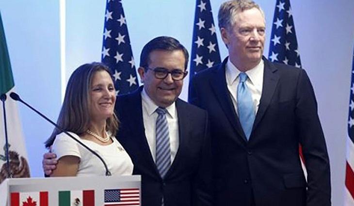 Single issue still to resolve in US-Mexico NAFTA talks: Mexico's Guajardo
