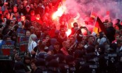 Germany migrants: Protesters face off in Chemnitz
