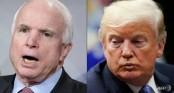 Trump not attending McCain's funeral