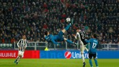 Ronaldo's 'bicycle kick' wins UEFA goal of season