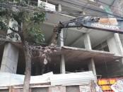 Rajuk conducts eviction drive at Wari, Swamibagh