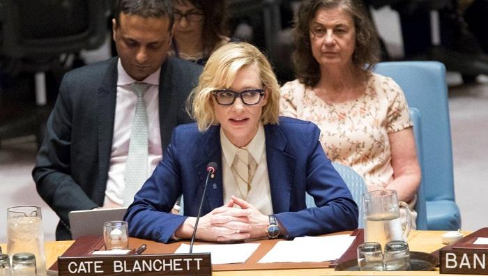 'Please, let us not fail Rohingyas again', pleads Blanchett
