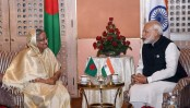 Hasina, Modi agree to work together for people of Bangladesh, India