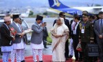 PM Sheikh Hasina reaches  Kathmandu to attend BIMSTEC summit