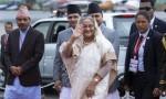 PM Sheikh Hasina leaves Kathmandu for home