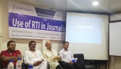 Call for using RTI in journalism