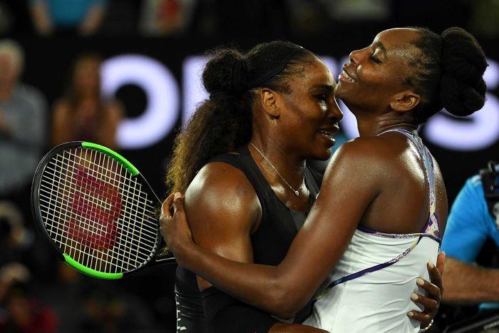 Serena Williams beats sister Venus Williams at US Open