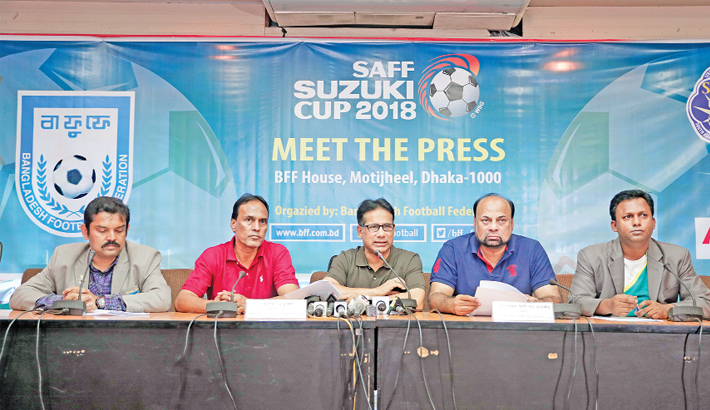 Bangabandhu Stadium gets ready for SAFF