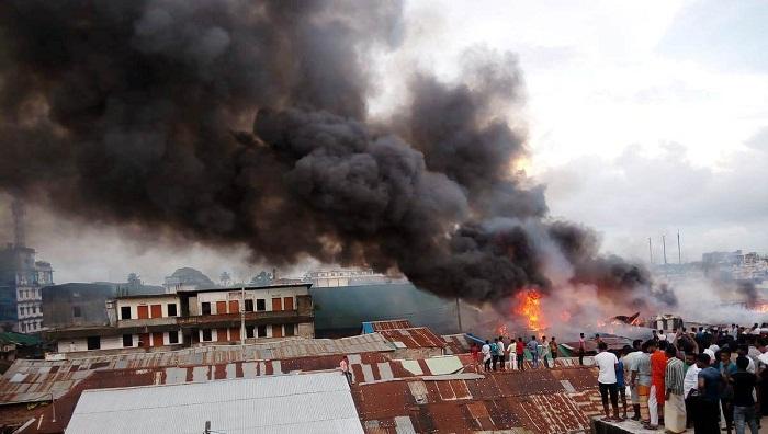 Fire at Chattogram salt factory