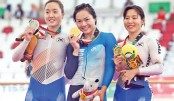 Hong Kong's Sarah Lee sprints to Asian Games gold